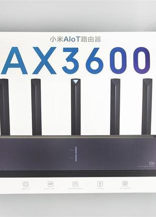 Wi-Fi 6 роутер! Xiaomi AIoT Router AX3600 - 2,4/5 ГГц, 802.11ax