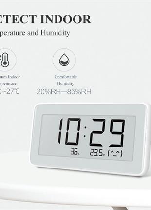 Часы термометр гигрометр Xiaomi MiaoMiaoCe E-Link