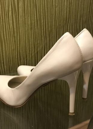 Туфли цвета слоновой кости (айвори), размер 38