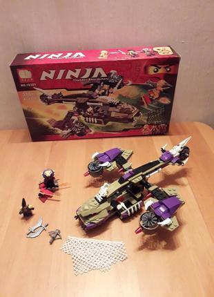 Конструктор Bela Ninja (Lego Ninjago) Вертолетная атака Анакон...