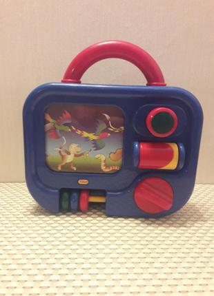 Музыкальный чемодан-шарманка - телевизор, развивающий центр фи...