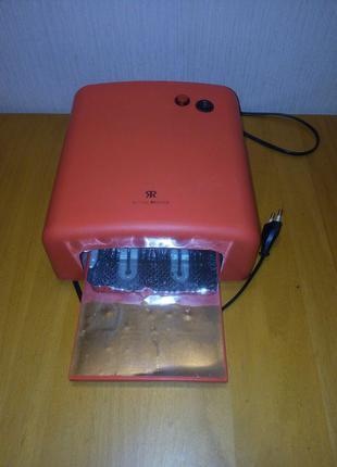 Уф лампа красная 36 вт для сушки гель лака - маникюра и педикюра