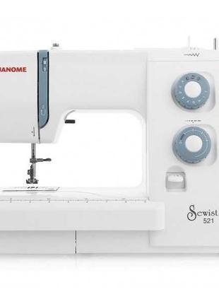 Электромеханическая швейная машина Janome Sewist 521