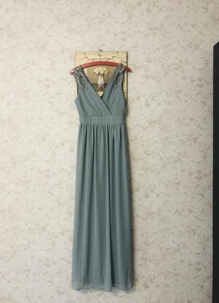 Нарядное вечернее платье tfnc london, новое!