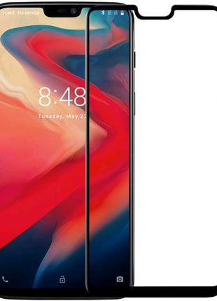 Защитное цветное 3D стекло Mocolo для OnePlus 6
