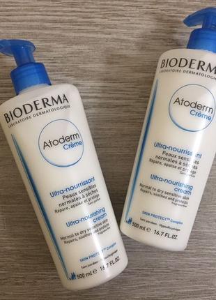 Bioderma Atoderm крем для тела 500мл