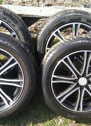 Комплект колес 195/55/r16 розболтовка 4х100