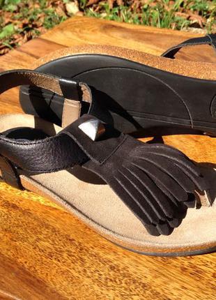 Великолепные кожаные женские сандалии босоножки Scholl 36 новые