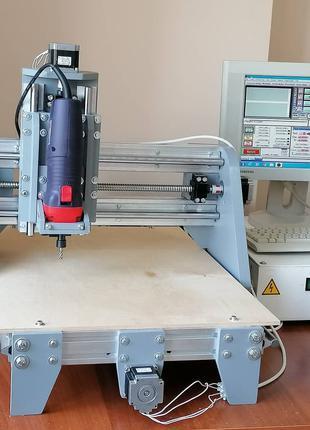 ЧПУ фрезерный станок CNC 3D