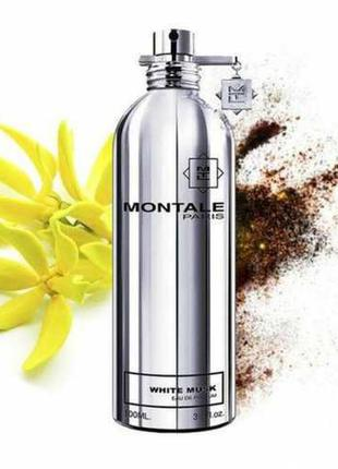 Montale white musk парфюмированная вода 100 мл оригинал франция