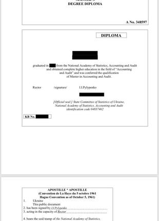 Срочный перевод документа на английский