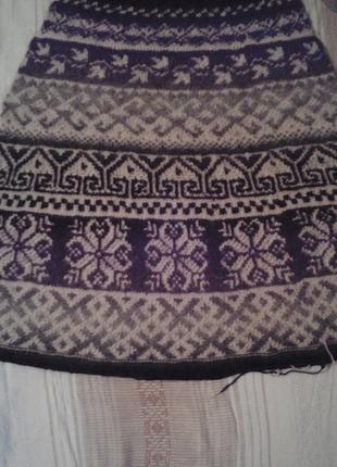 Ручное вязание спицами