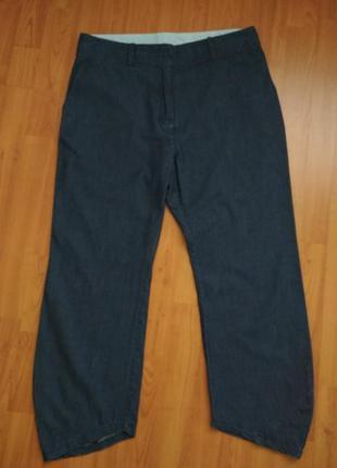 Летние тонкие брюки джинсы. and gess.