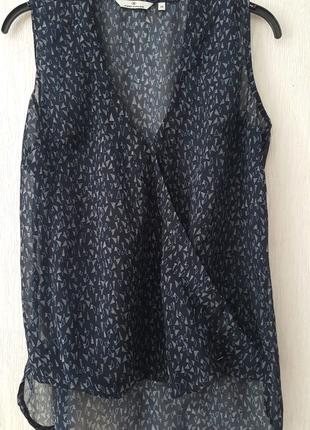 Красивая легкая блуза на запах
