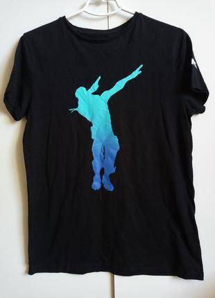 Оригинальная футболка игра фортнайт fortnite движение dab дэп ...
