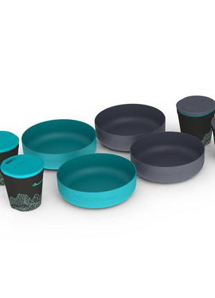 Набір посуду Sea To Summit DeltaLight Camp Set 4.4 Pacific Blue