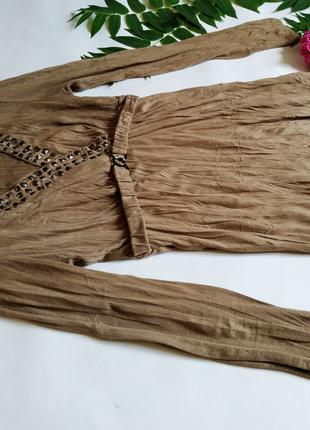 Женская замшевая блуза-туникас открытым декольте