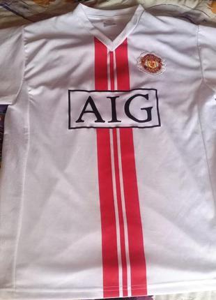 Футболка fc manchester united, ronaldo