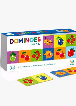Игра домино Ягодки 28 карточек