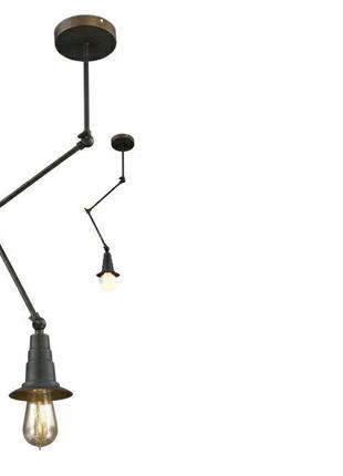 Люстра подвесная потолочная или стеновая на 1 лампу Spider лофт