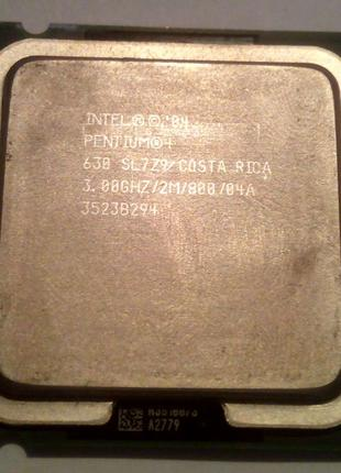 Intel Pentium 4 630 3.00GHz 2M 800 сокет 775