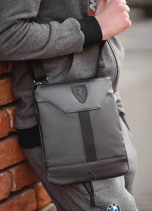 Мужская сумка через плечо, барсетка