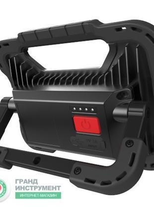 Прожектор светодиодный аккумуляторный 20W с POWERBANK 5000 mAh (в