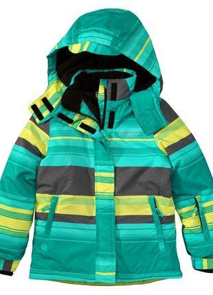 Фирменная зимняя термо куртка topolino yigga р.134