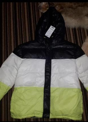 Куртка пуховик zara 140-164