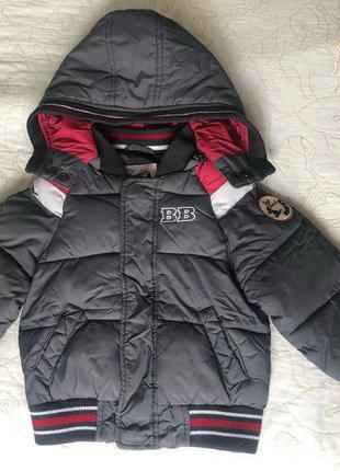Пуховик курточка на 1-2р. Осінь-зима.