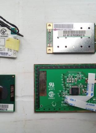 Запчасти Asus X50 series (процессор, wi-fi-модуль, модем и тач...