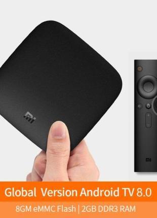 Xiaomi MI BOX 3 TV Smart приставка 4K Голосовое управление. Ор...