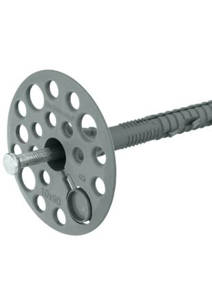 Термодюбель 10*90 мм для теплоизоляции с металлическим гвоздем,