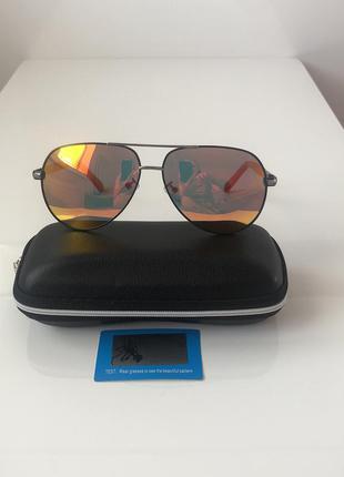 Зеркальные очки-авиаторы