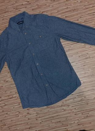Стильная теплая рубашка
