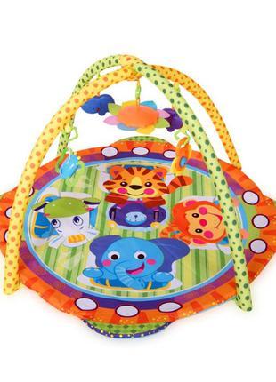 Игровой развивающий коврик с дугами для детей от рождения Килимок