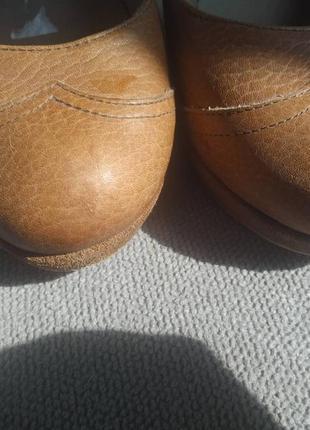 Туфли cubanas на каблуке натуральная кожа