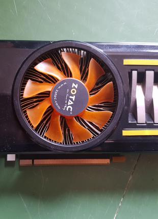 Видеокарта Zotac GTX460 AMP 1gb DDR5