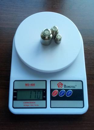 Весы Кухонные Электронные Domotec SF-400 до 10кг Точность 1 грамм
