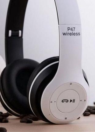Беспроводные Bluetooth наушники P15 Wireless/навушники/блютуз
