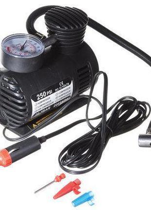 Автомобильный компрессор Air Pomp MJ004, для подкачки шин, насос