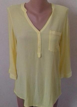 Вискозная блуза- рубашка george