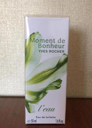 Moment de bonheur l´eau 50ml Yves Rocher Ив Роше Момент Счастья