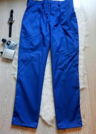 Мужские синие рабочие штаны специальные брюки штаны спецформа ...