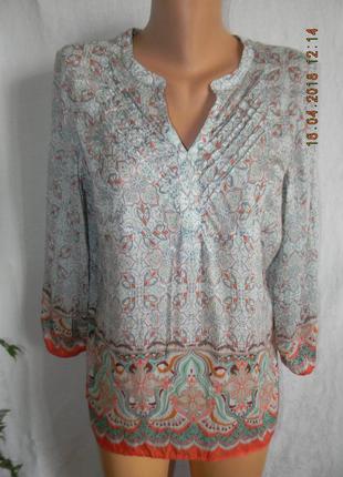 Легкая шелковая нежная блуза