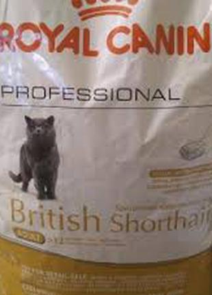 ROYAL CANIN(Роял Канин) British(Бритиш) Shorthair-корм для кошек