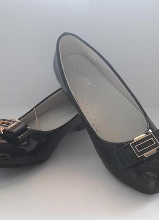 Туфли для девочки тм clibee  черные