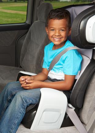 Автокресло бустер от 18 до 50кг,Evenflo США детские автокресла