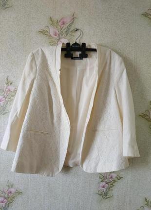Новый женский льняной пиджак # жакет # светлый женский пиджак ...