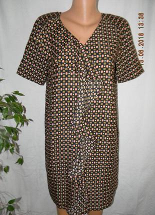 Платье прямого кроя с валаном zalando